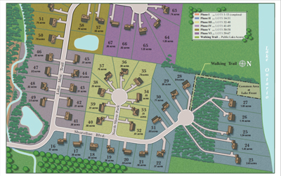 Lakefront Estates Subdivision Site Plan Custom Homes Ontario NY Dec 2016 Phases 3 4